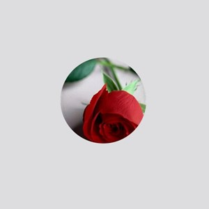 Red_Rose Mini Button