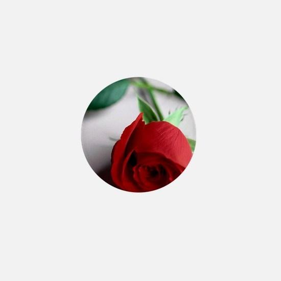 Red_Rose Mini Button