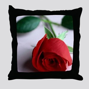 Red_Rose Throw Pillow