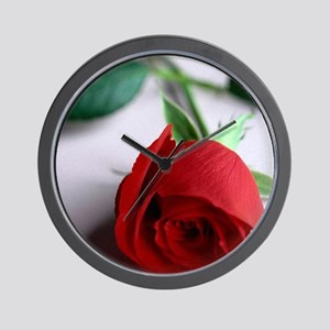 Red_Rose Wall Clock