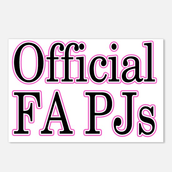 fapj Postcards (Package of 8)