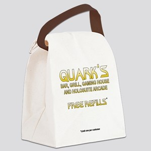 quarksshirtfront Canvas Lunch Bag