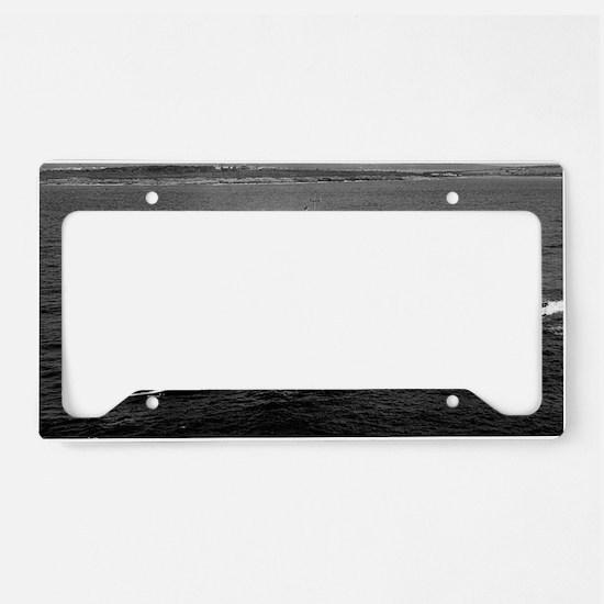 cjbadger large framed print License Plate Holder