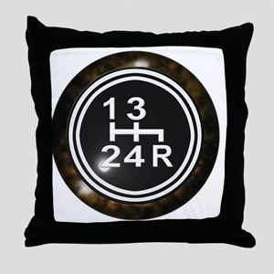 240Shift-Knob Throw Pillow