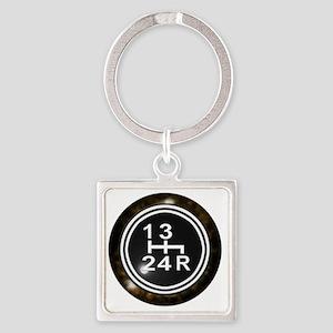 240Shift-Knob Square Keychain