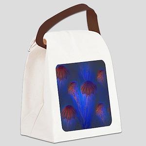 Artistic jellyfish Canvas Lunch Bag