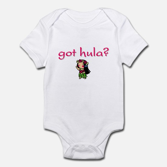 got hula? (D) Infant Bodysuit