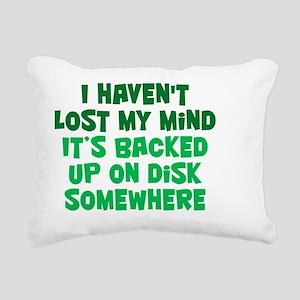 backed-up_rnd1 Rectangular Canvas Pillow