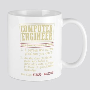 Computer Engineer Funny Dictionary Term Mugs