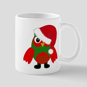 Santa Owl Mugs