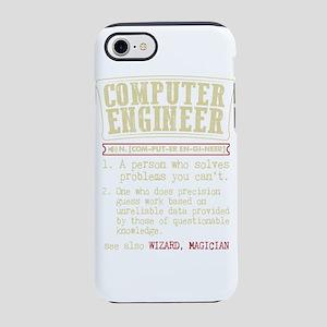 Computer Engineer Funny Dictio iPhone 7 Tough Case