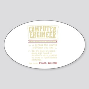 Computer Engineer Funny Dictionary Term Sticker