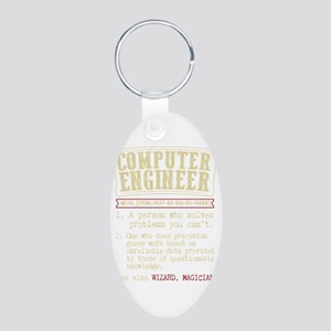 Computer Engineer Funny Dictionary Term Keychains
