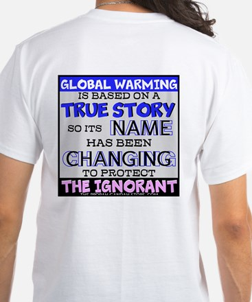'global Warming' Is Based On T-Shirt