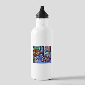 Schnauzer Busy House Water Bottle