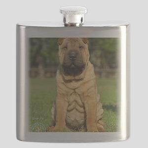 Shar Pei 9M100D-049 Flask