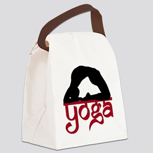 YO-91-011-BL-TS Canvas Lunch Bag