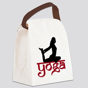 YO-91-010-BL-TS Canvas Lunch Bag