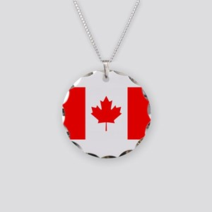 Canadian Flag Necklace