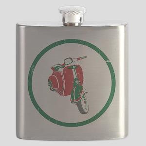 Vespa-Italiano Flask