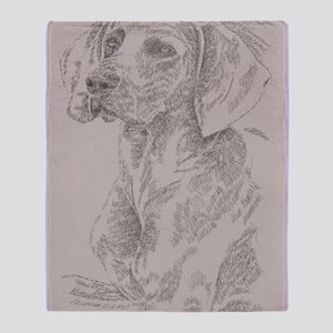 Weimaraner_Kline Throw Blanket