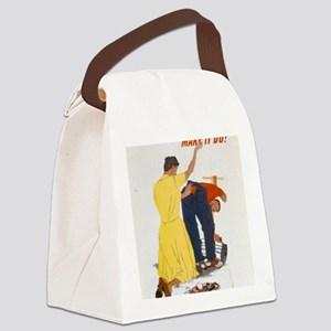 44-PA-382 Canvas Lunch Bag