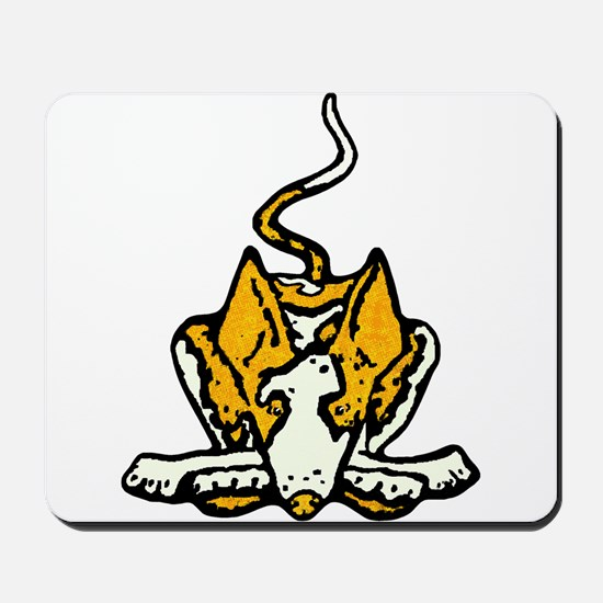 Ib in Yellow Mousepad