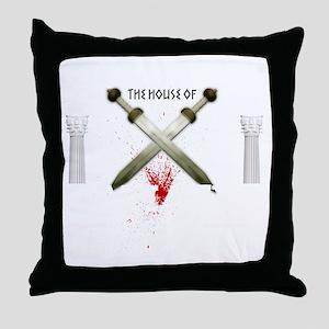 spartacusshirt_black Throw Pillow
