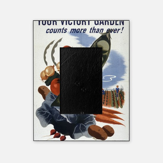 victory garden 2 Picture Frame