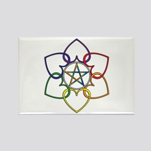 Poly Pagan and Proud Rectangle Magnet