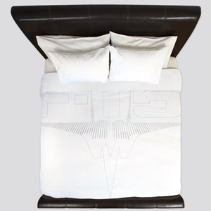 eaglelogowhite King Duvet