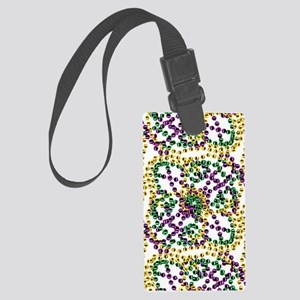 throwMEbeadsPat460ipad Large Luggage Tag