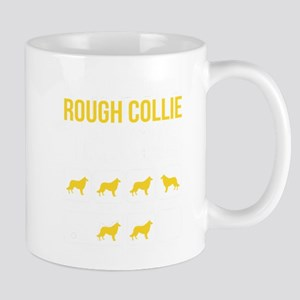 Collie Stubborn Tricks Mugs