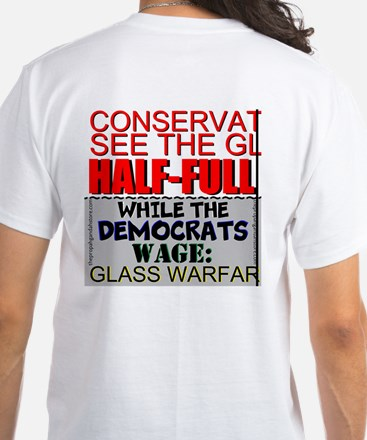 Conservatives See The Glass T-Shirt