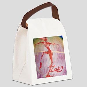 Dance4Love Canvas Lunch Bag