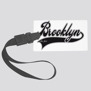 BROOKLYN NEW YORK Large Luggage Tag