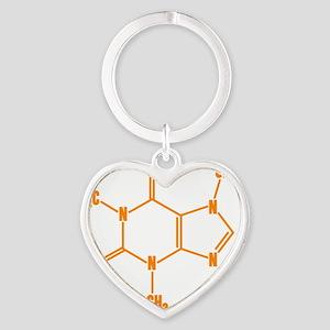caffeine_og_10x10 Heart Keychain