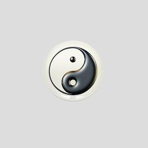 ying yang  Mini Button