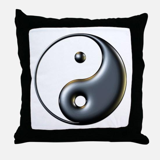 ying yang  Throw Pillow