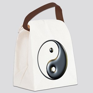 ying yang  Canvas Lunch Bag