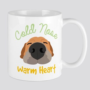 Cold Nose Warm Heart Mugs