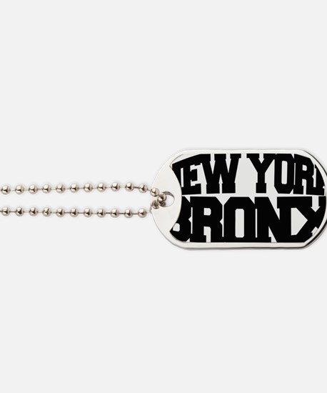 NEW YORK BRONX Dog Tags