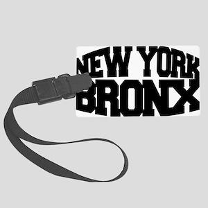 NEW YORK BRONX Large Luggage Tag