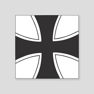 "iron cross Square Sticker 3"" x 3"""