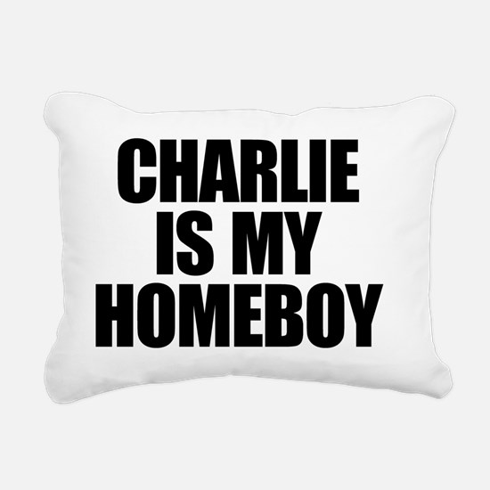 charlieismyhomeboy Rectangular Canvas Pillow
