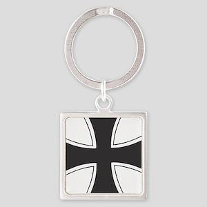 iron cross Square Keychain