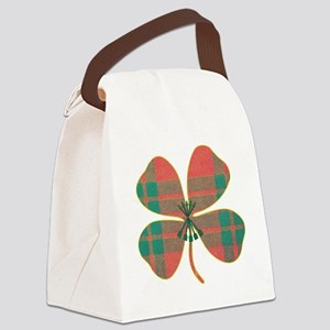 Cameron Shamrock Canvas Lunch Bag