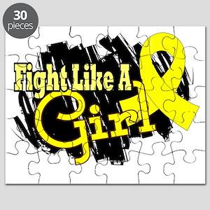 Fight Like A Girl Endometriosis 17.8 Puzzle