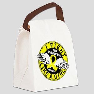Fight Like A Girl Endometriosis 1 Canvas Lunch Bag