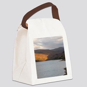 Pepacton Reservoir Canvas Lunch Bag